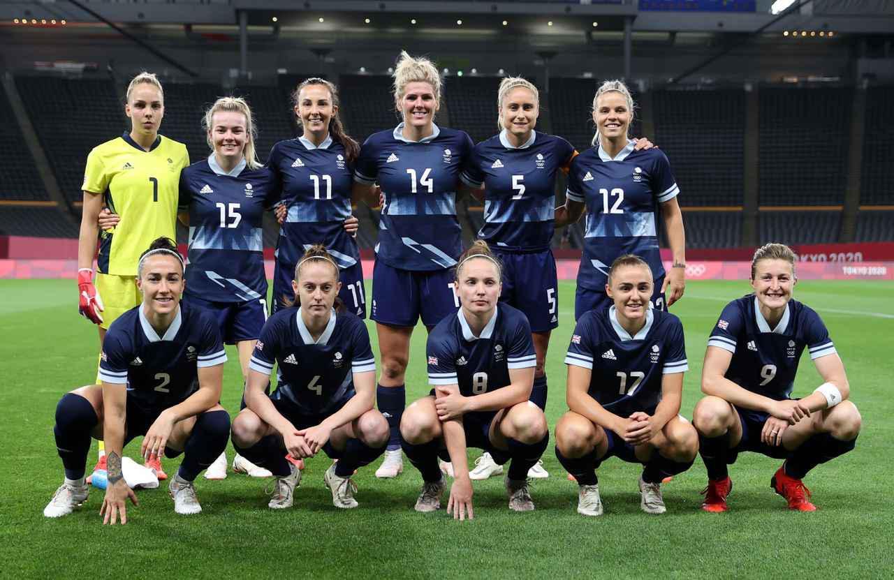 画像: イギリス女子代表・東京五輪登録メンバー - サッカーマガジンWEB
