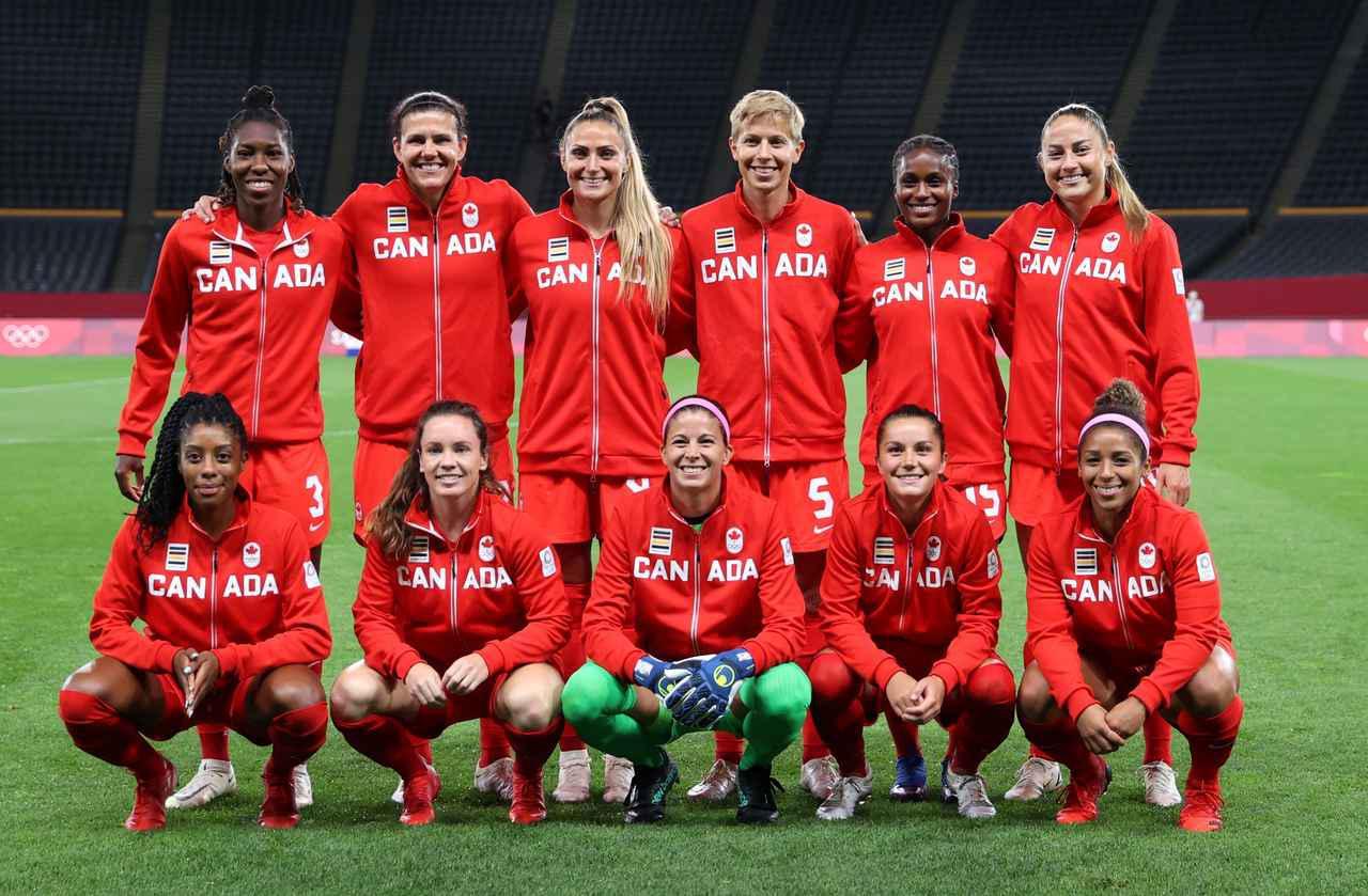 画像: カナダ女子代表・東京五輪登録メンバー - サッカーマガジンWEB