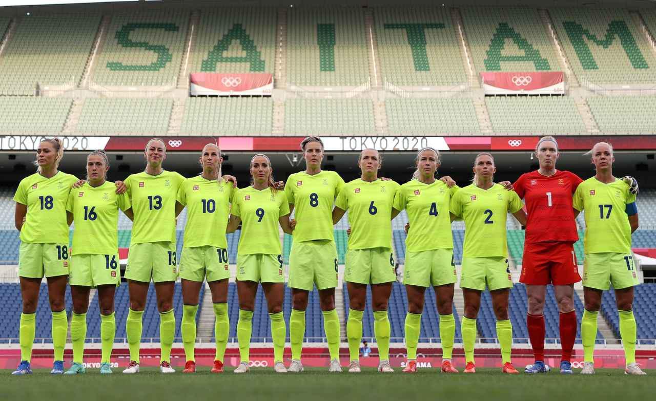 画像: スウェーデン女子代表・東京五輪登録メンバー - サッカーマガジンWEB