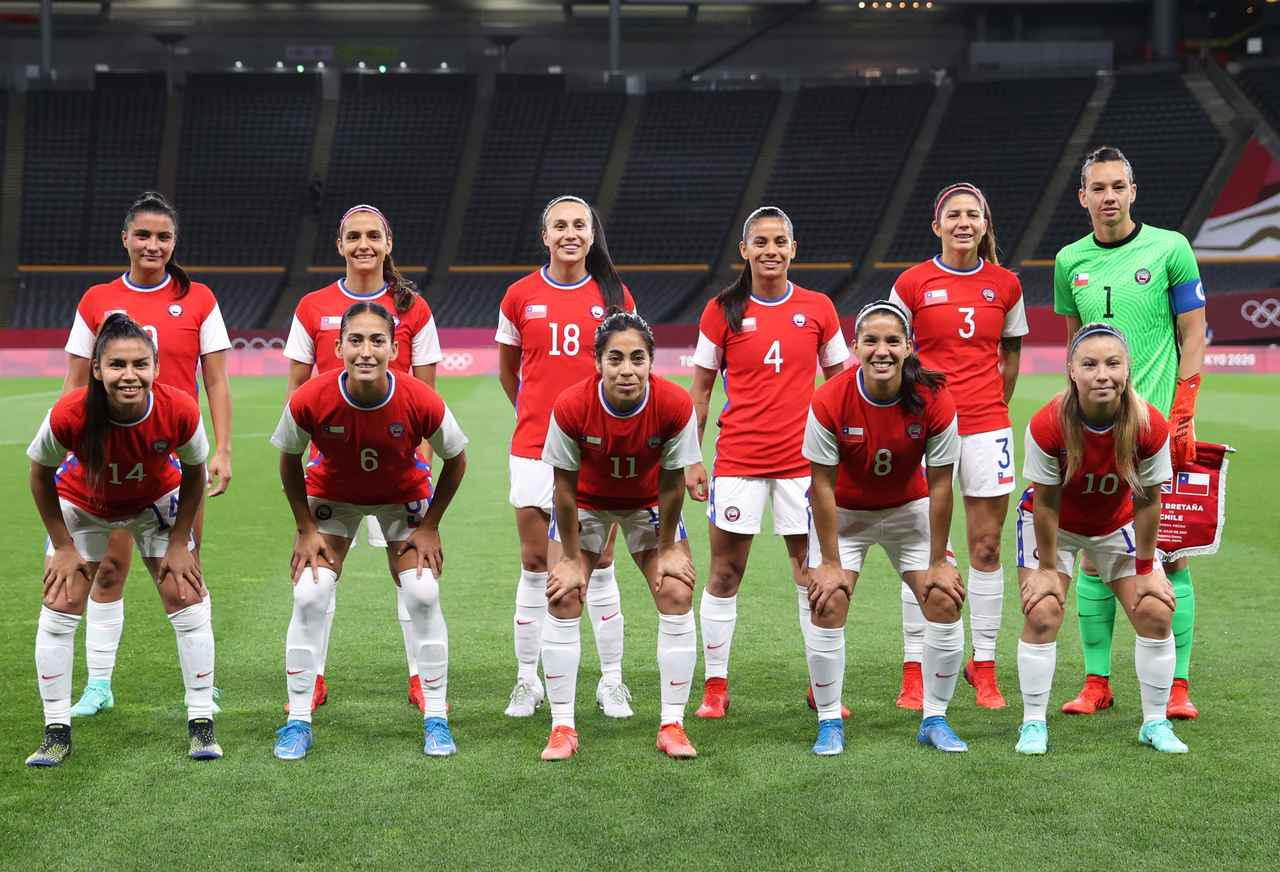 画像: チリ女子代表・東京五輪登録メンバー - サッカーマガジンWEB
