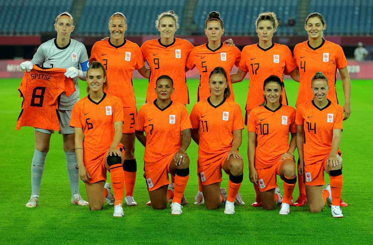 画像: オランダ女子代表・東京五輪登録メンバーリスト - サッカーマガジンWEB