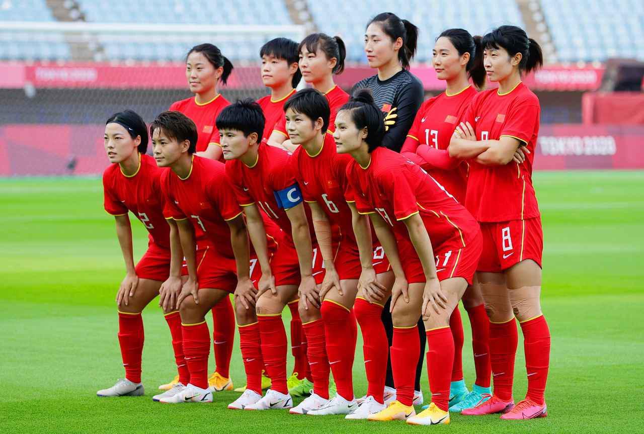 画像: 中国女子代表・東京五輪登録メンバー - サッカーマガジンWEB