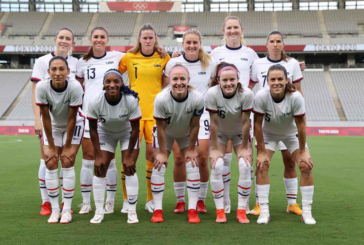 画像: アメリカ女子代表・東京五輪登録メンバー - サッカーマガジンWEB