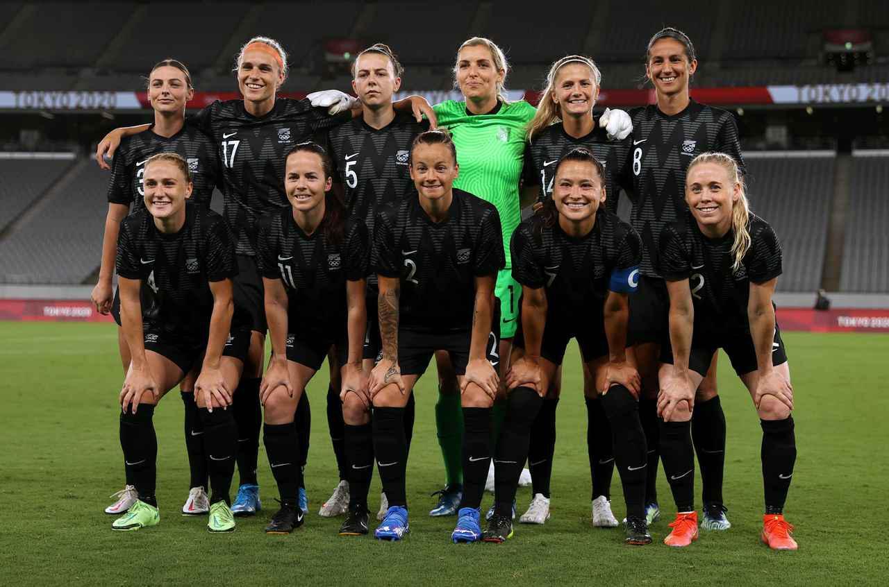 画像: ニュージーランド女子代表・東京五輪登録メンバー - サッカーマガジンWEB