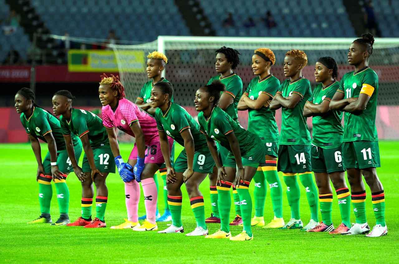 画像: ザンビア女子代表・東京五輪登録メンバー - サッカーマガジンWEB