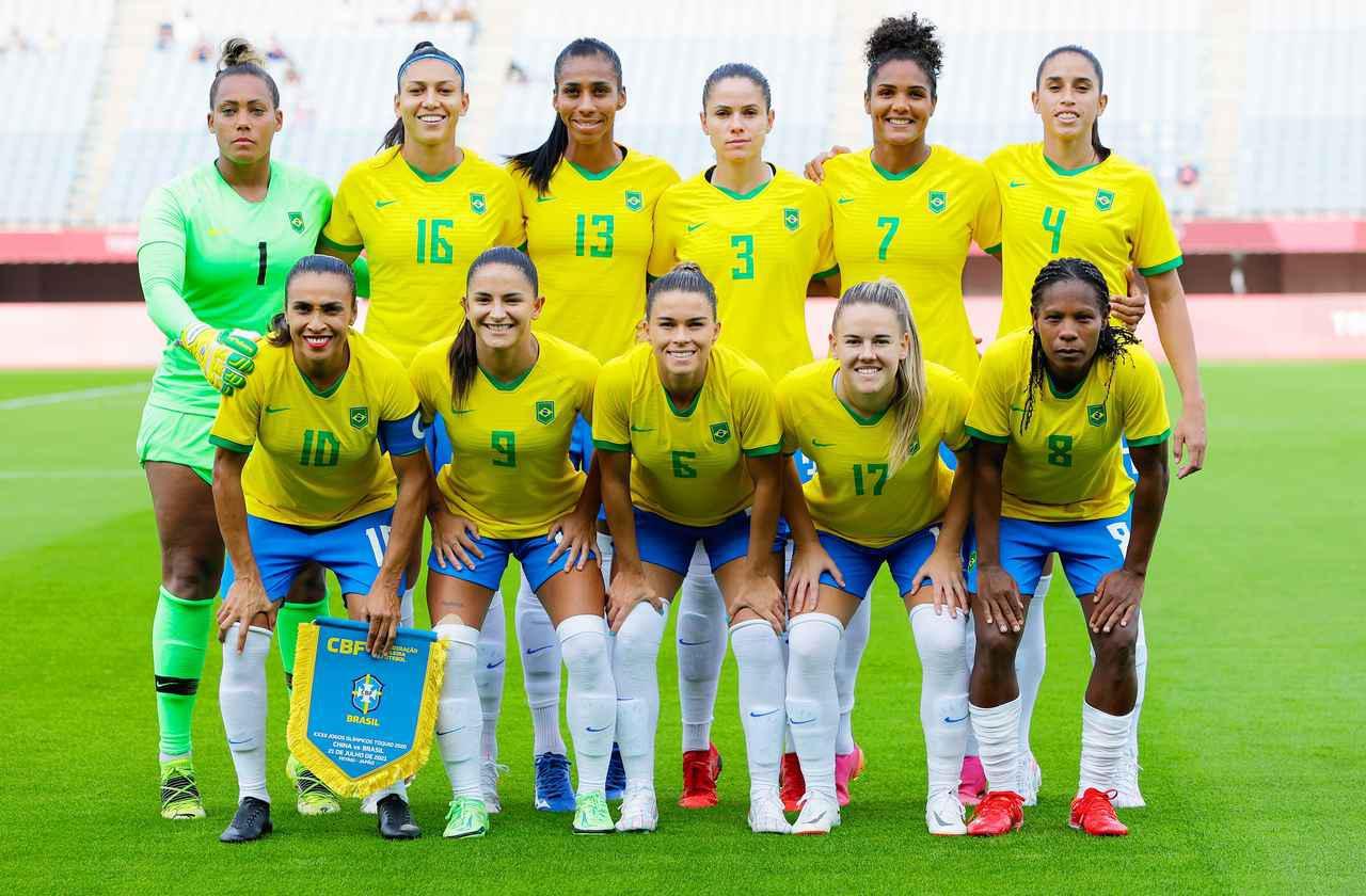 画像: ブラジル女子代表・東京五輪登録メンバー - サッカーマガジンWEB