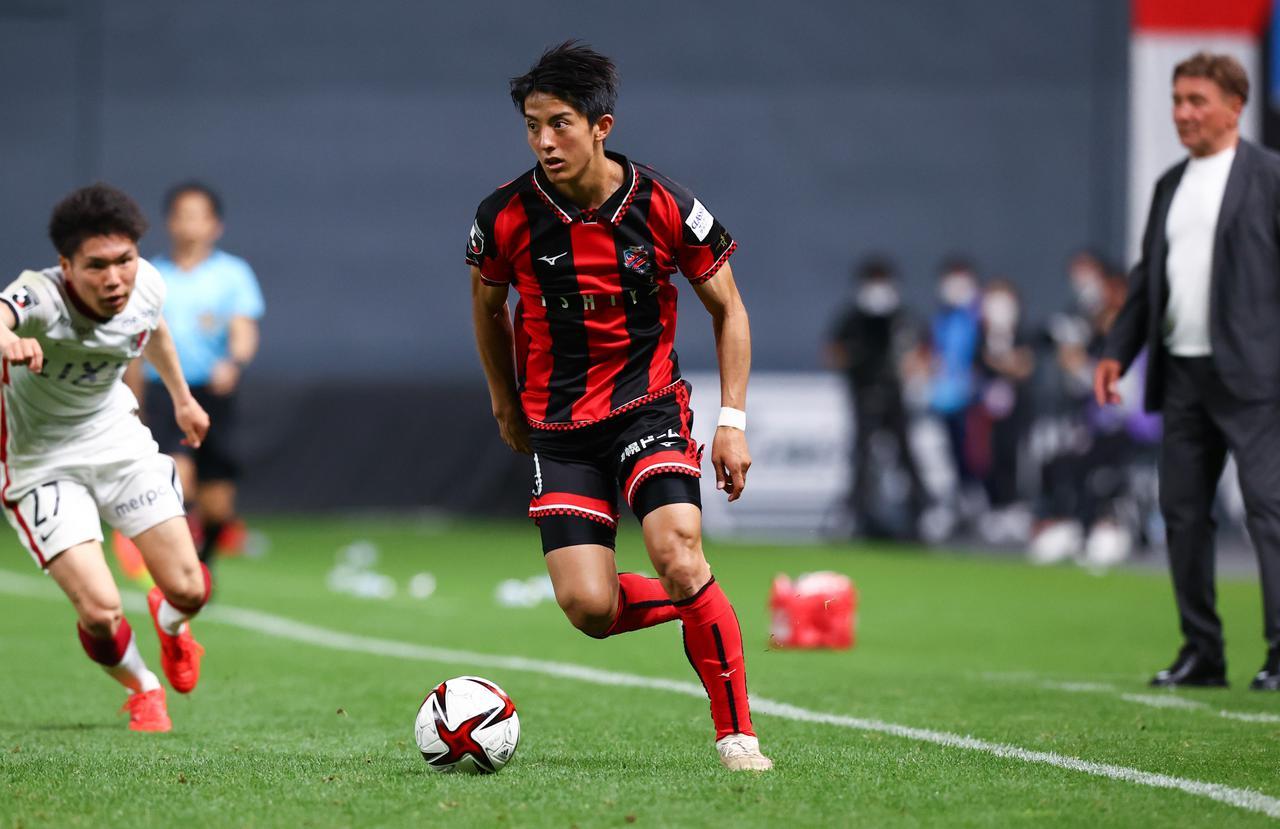 画像: 今季のルヴァンカップでは特別指定選手として3試合に出場した田中宏武(写真◎J.LEAGUE)