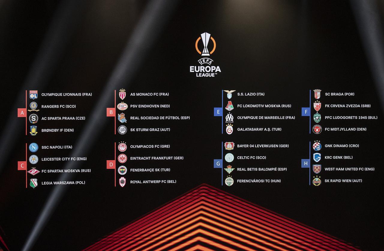 画像: 2021-2022UEFAヨーロッパリーグの日程 - サッカーマガジンWEB