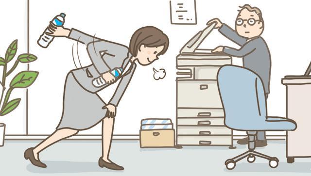 画像: お尻、二の腕のたるみを予防する日常エクササイズ