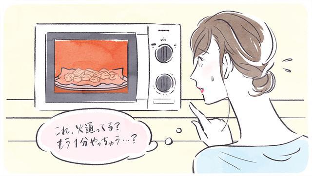 画像: レンジでお肉を加熱するコツ、教えます。
