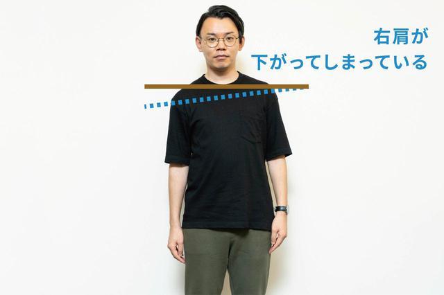 画像: (3)体が左右にズレていたら医療機関へ