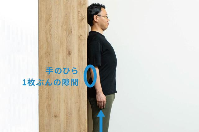 画像2: (1)ピンと胸を張る「立ち方」