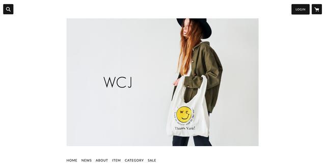 画像: WCJのウェブサイト。若槻さんがモデルとして登場することは全くない