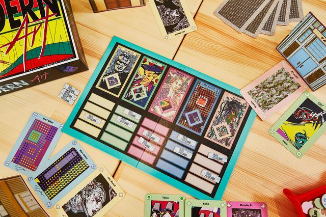 画像: 【おすすめボードゲーム3】 絵画をオークションで売りさばく「モダンアート」