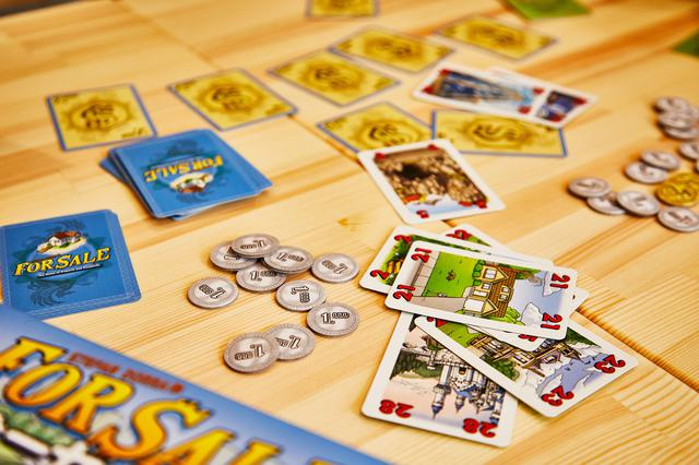 画像: 【おすすめボードゲーム①】 不動産売買の利益を競う!「フォーセール」