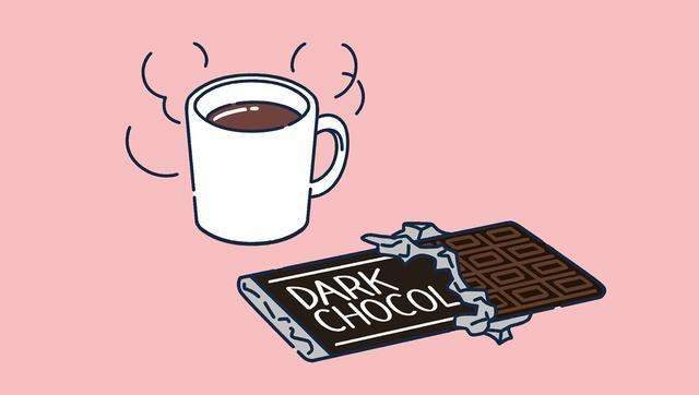 画像: 【心を落ち着かせたい時】ココアとカカオチョコレート