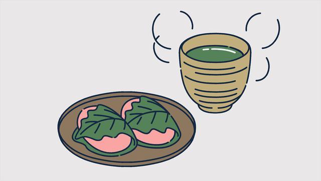 画像: 【イライラをなくしたい時】緑茶と和菓子