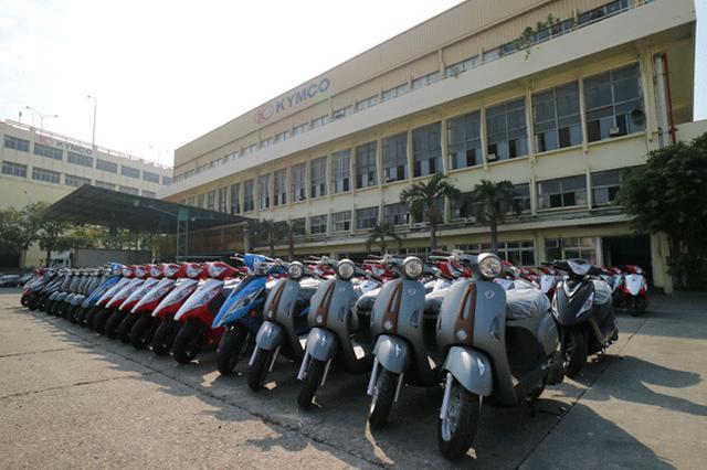 画像: 第二工場で生産されたモデル群。生産数は1日最大1500台