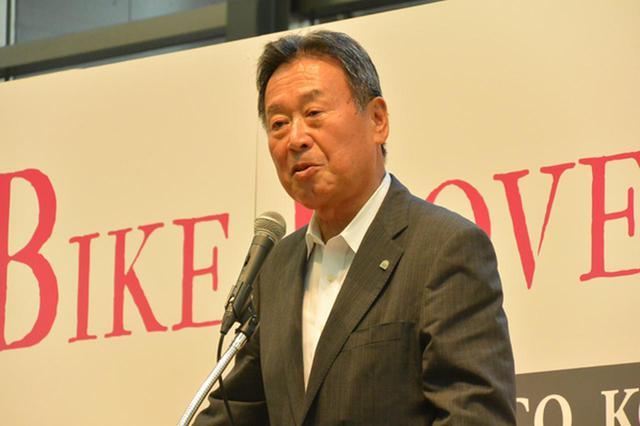 画像: 吉田AJ会長