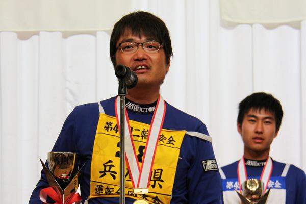 画像: 一般Aクラス優勝の小谷隆雄選手(兵庫)