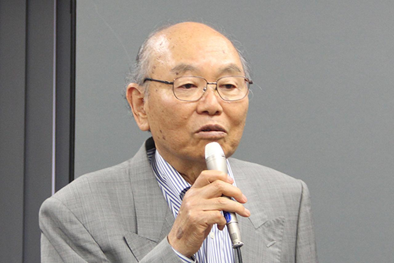 画像: 田宮俊作会長