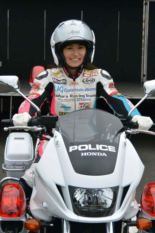 画像: 岡崎さんは「レースでも公道でも『安全』を考える」「スマートに走るライダーはカッコいい」と語った