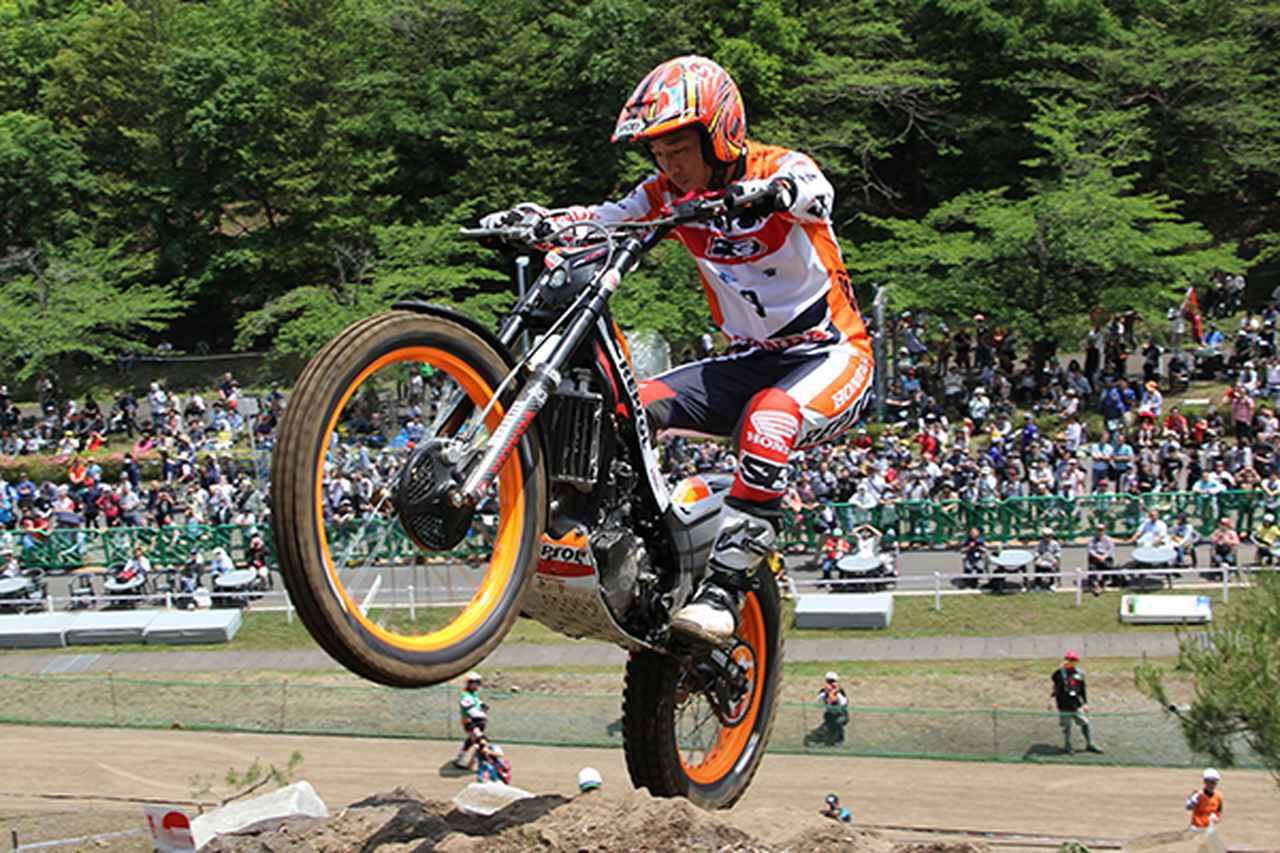 画像: 1日目、地元日本で3位表彰台を獲得した藤波貴久選手
