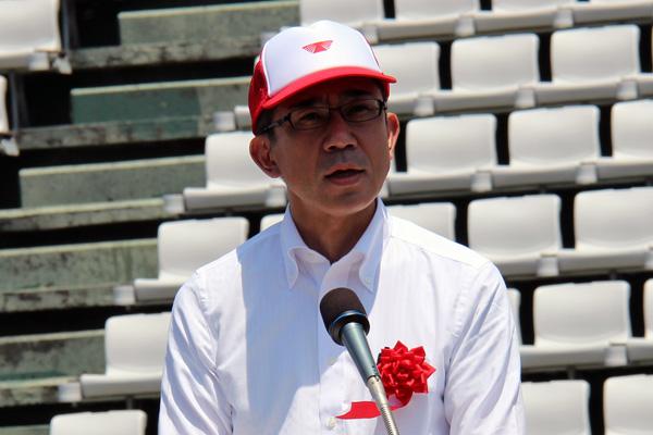 画像: 森元三重県警察本部本部長