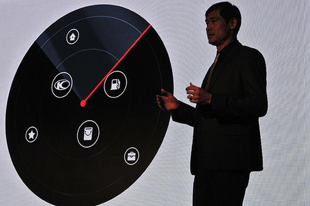 画像: 「Noodoe」を説明するキムコのコウ会長