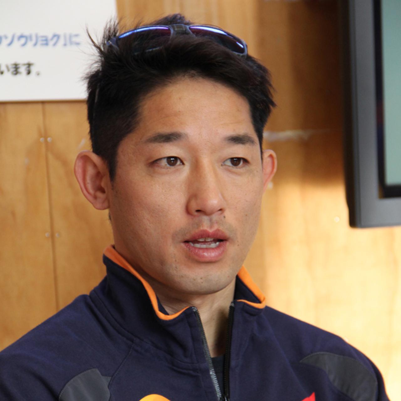画像: 藤波貴久選手