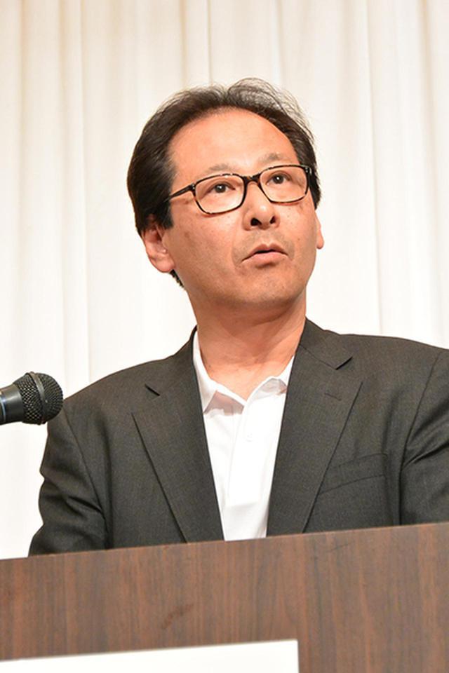 画像: 閉会式であいさつする中嶋大会運営委員長