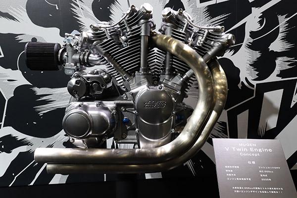 画像: 2000ccプッシュロッドOHVのVツインエンジンも発表