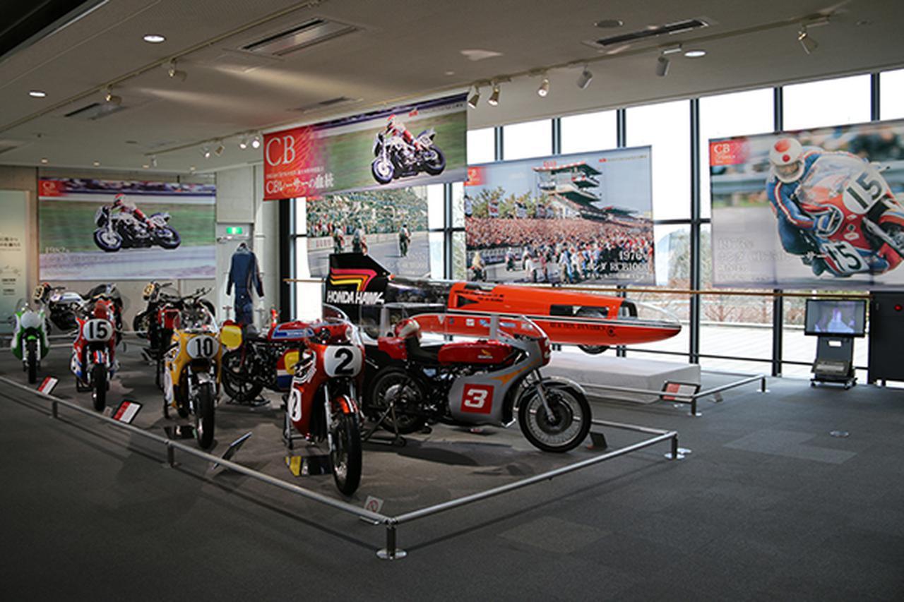 画像: 「CBレーサーの血統」も貴重な車両がずらり展示