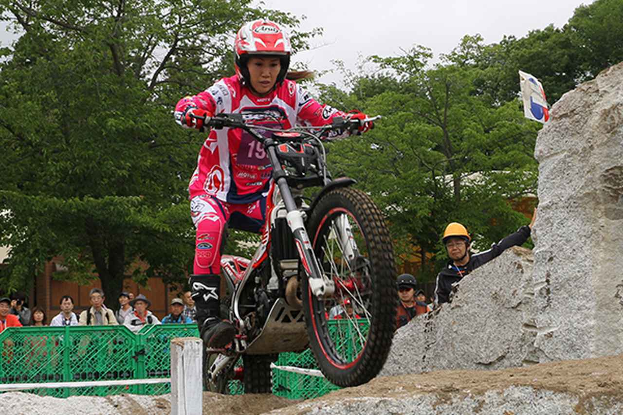 画像: 全日本女子チャンピオンの西村亜弥は両日ともに9位