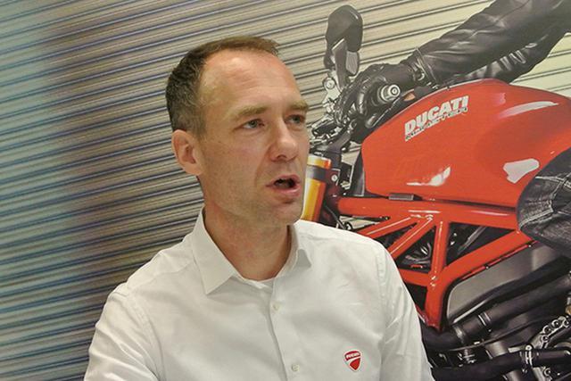 画像: ドゥカティジャパン マッツ・リンドストレーム 社長/「好き・熱中できる仕事」が重要 顧客が一番、だから「大きな耳」必要
