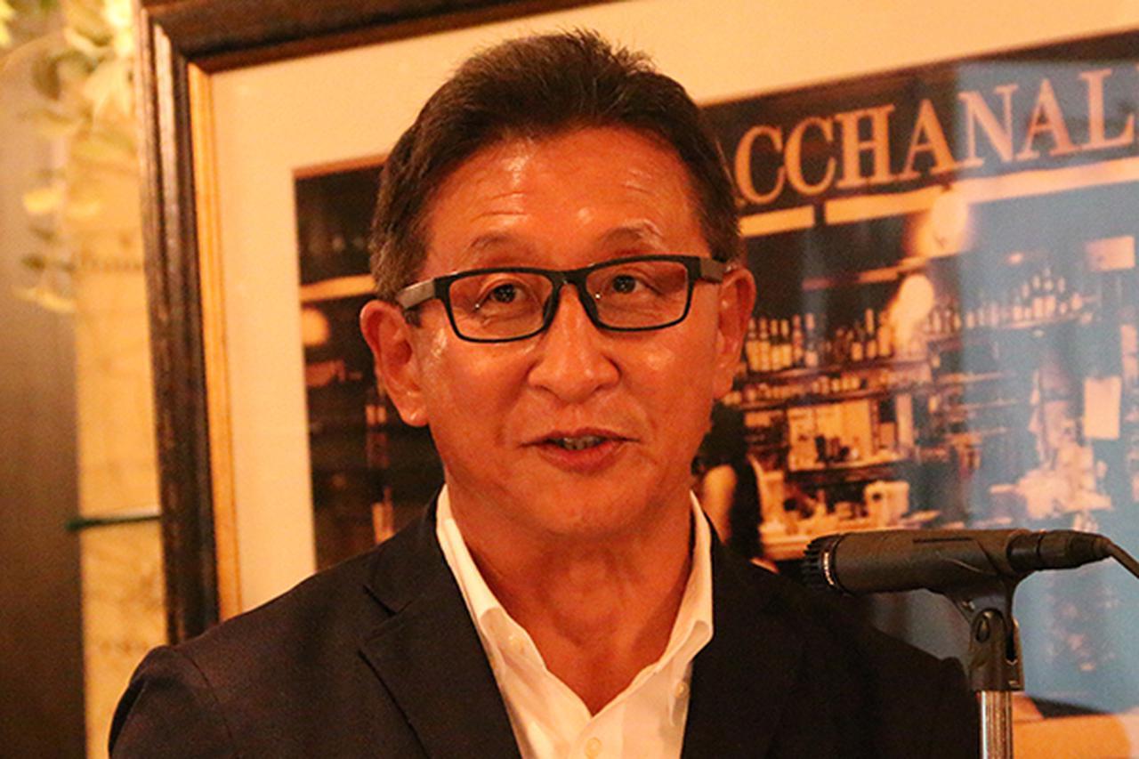 画像: 鈴木哲夫会長