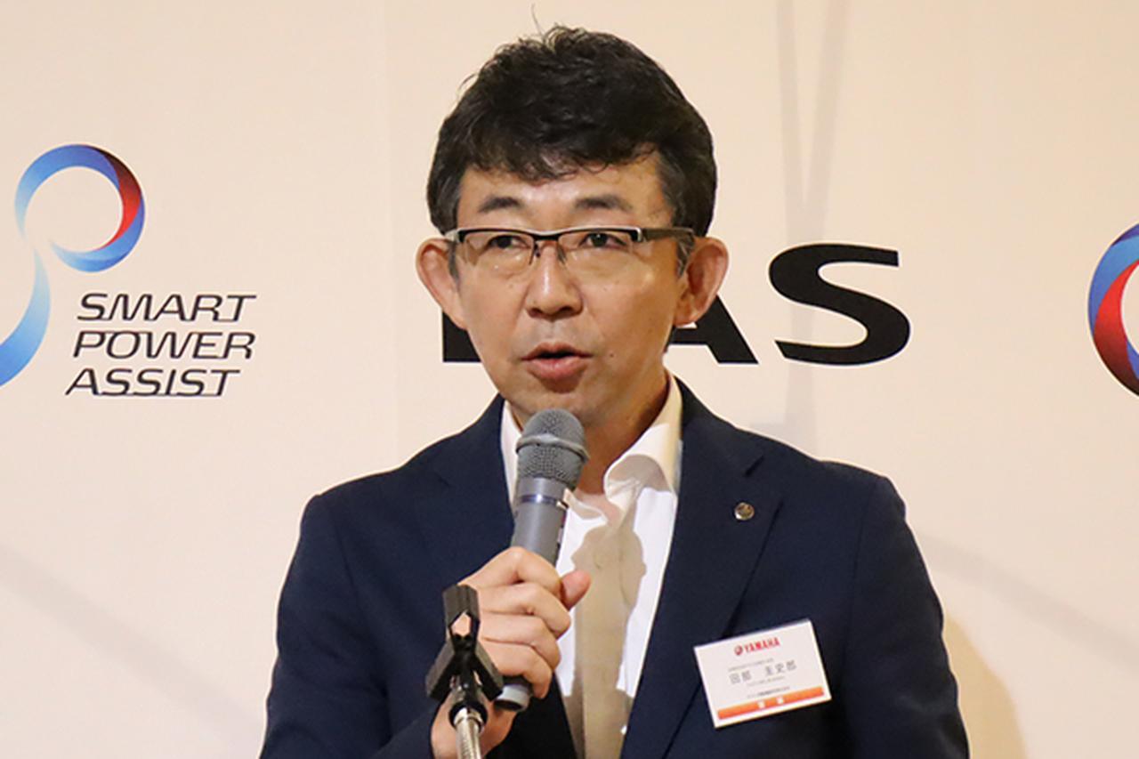 画像: PAS営業部の田部氏