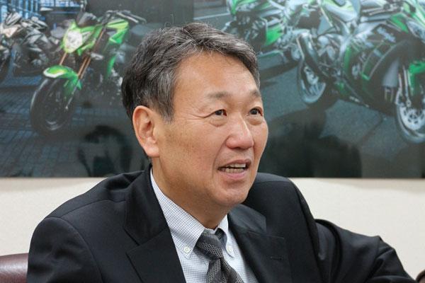 画像: カワサキモータースジャパン 寺西猛 社長/「新販売網」、「社内改革」も