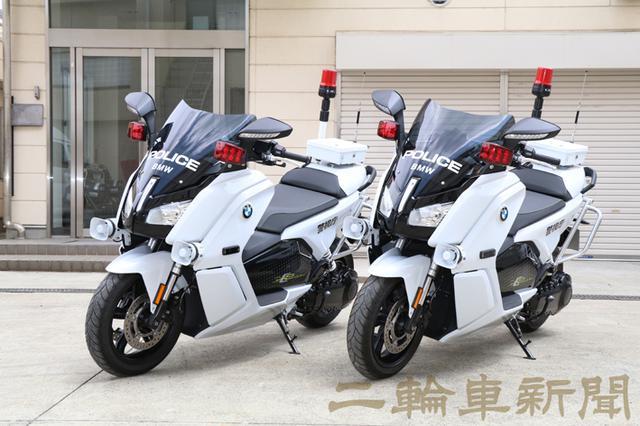 画像: 現在、4台のE-WINGを配備。充電設備は警視庁の交通安全教育センターに設置している