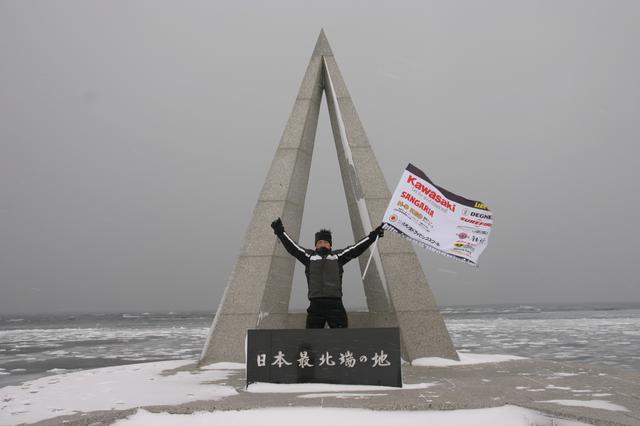 画像: 見事過酷な北海道極寒ツーリングを完走、疑問通り、楽しく(!?)検証してみせた実験人