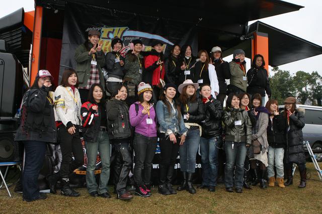 画像: 番組でツーリングやイベント参加など、様々な活動を展開した『チームL』当時のスナップ
