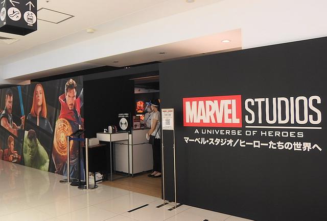 画像: 大丸梅田店で好評開催中 ©2020MARVEL
