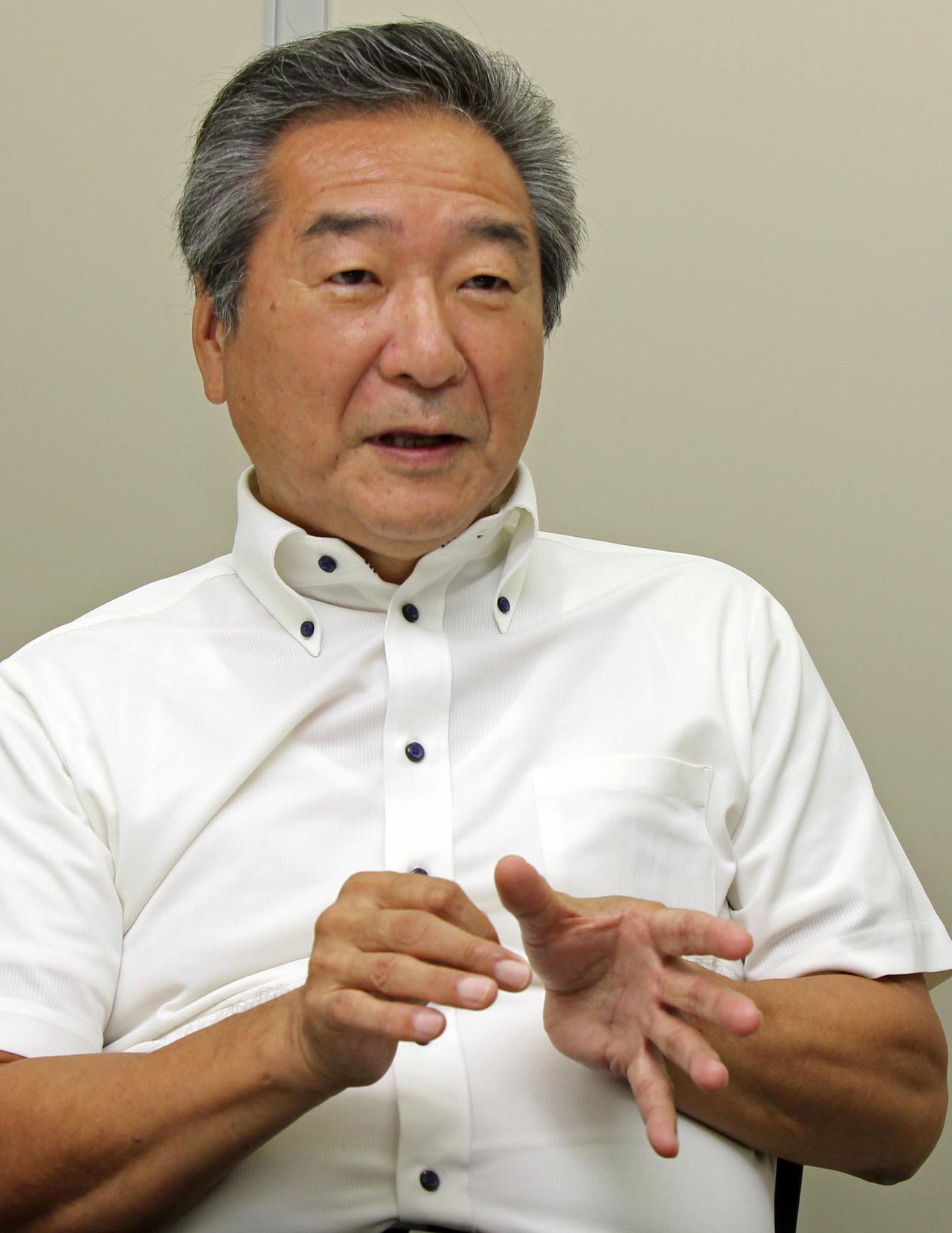 画像: ミツバサンコーワ常務取締役の元松撤男氏