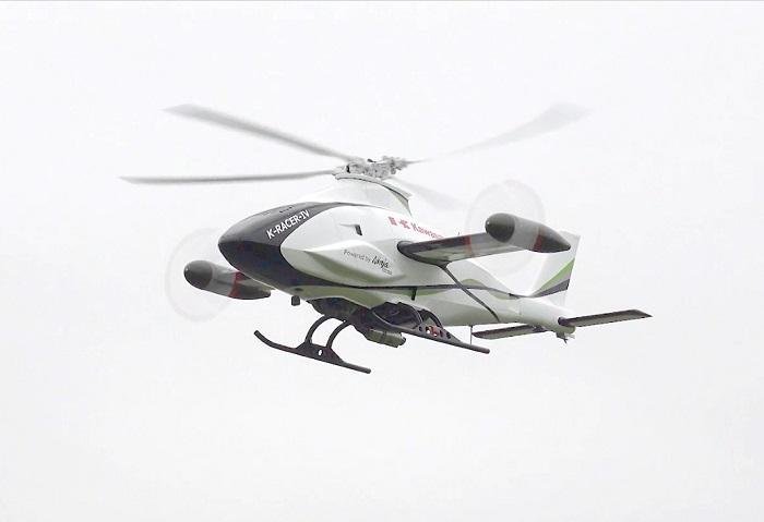 画像: 高速化を目指した無人試験機の技術実証により、自律制御で安定した飛行を確認