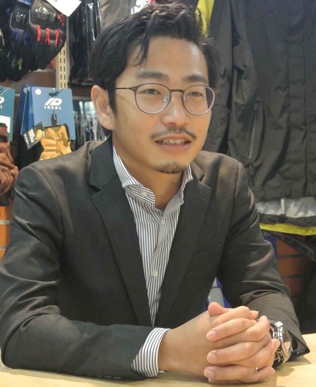 画像: 小川賢人社長
