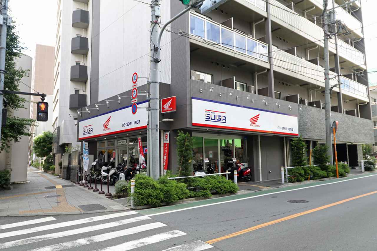 画像: オリジナルの店舗デザインを導入しているモトウィング須賀