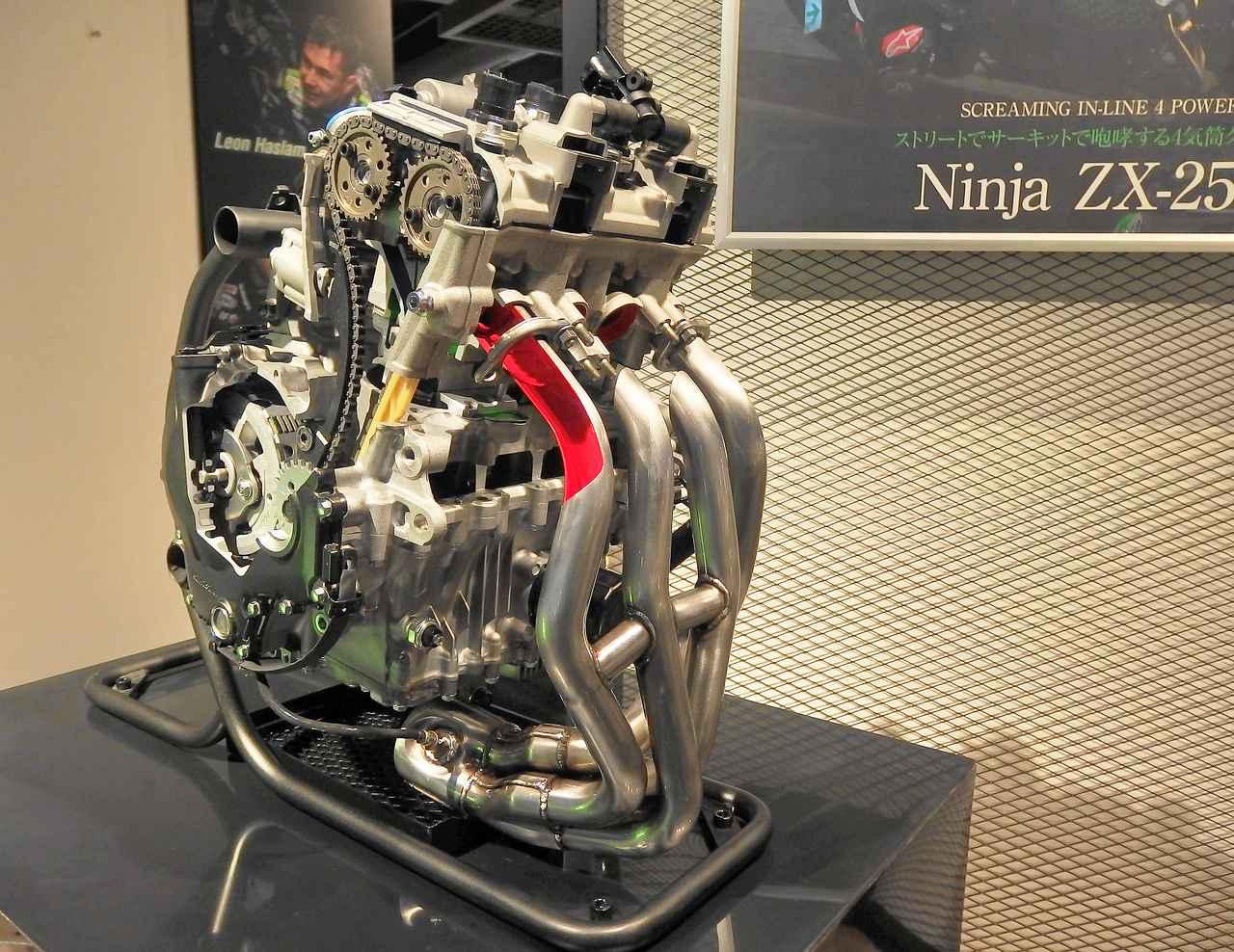 画像: 精巧なエンジン内部構造に肉薄できる