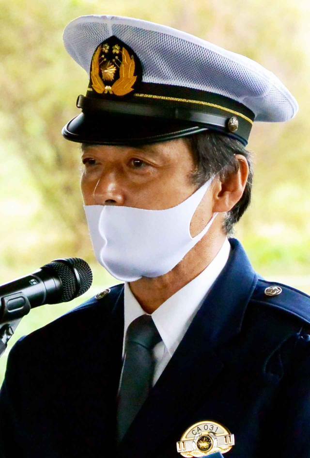 画像: 警視庁交通安全教育係の柴崎係長