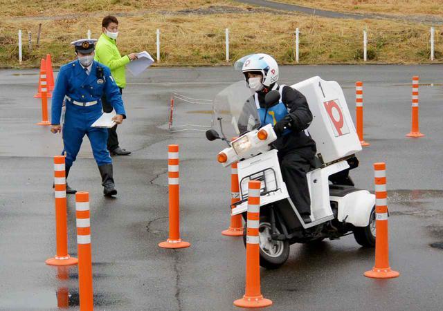 画像: 中低速車両感覚走行競技