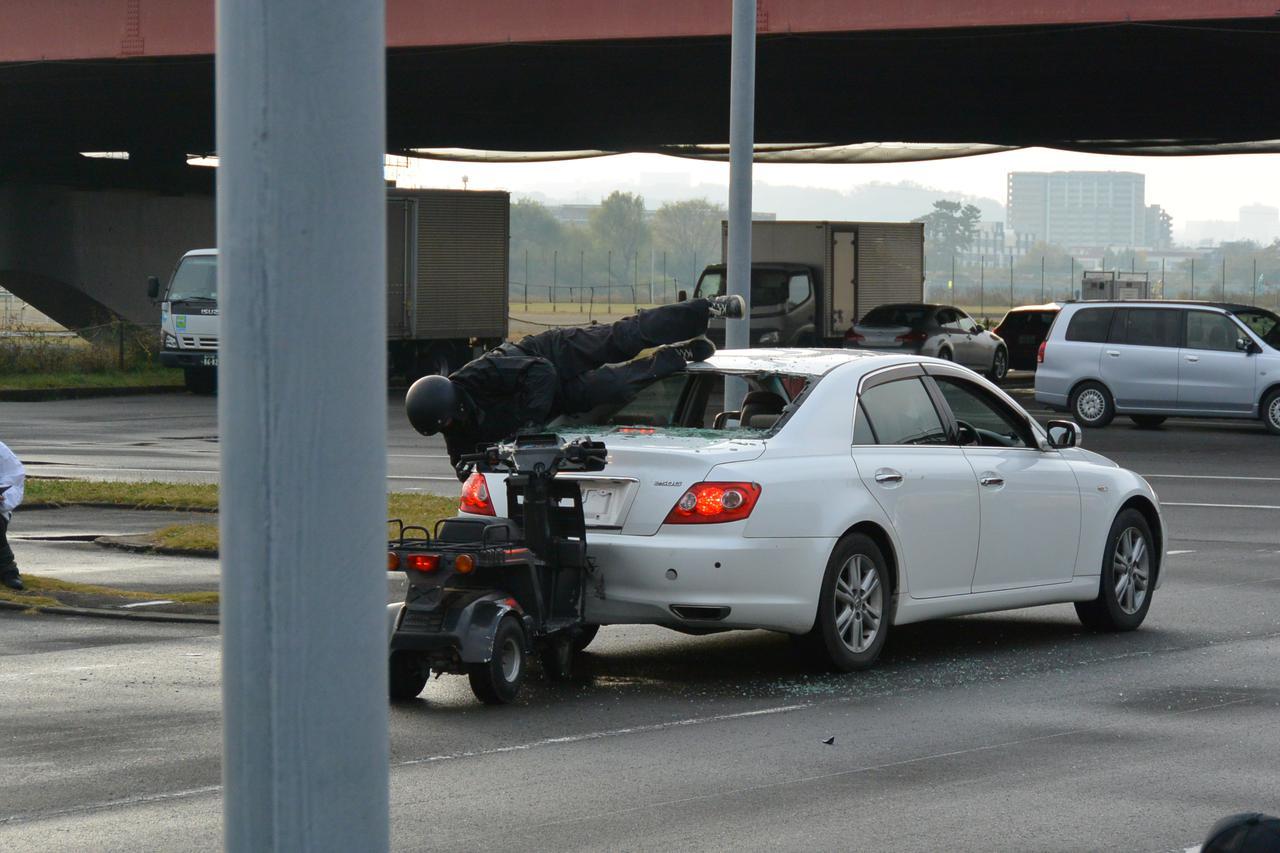 画像1: 宅配ライダーが安全運転技術披露 「第17回デリバリー業安全運転競技会」 団体部門優勝はピザーラチーム